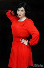 Audrey Horne from Twin Peaks  by Avianna