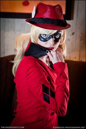 Harley Quinn / Dr. Harleen Francis Quinzel  	 from Batman worn by Avianna