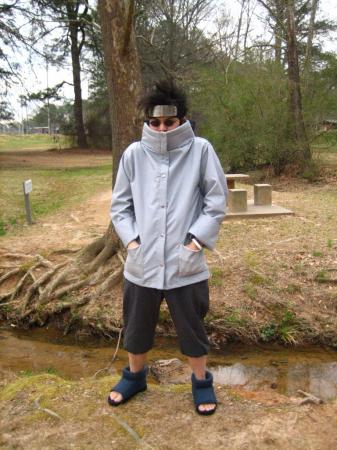 Shino Aburame from Naruto