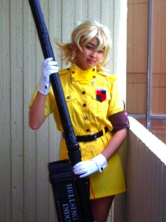 Victoria Seras from Hellsing worn by The Shining Polaris