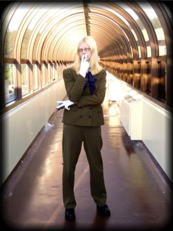 Sir Integra Wingates Hellsing