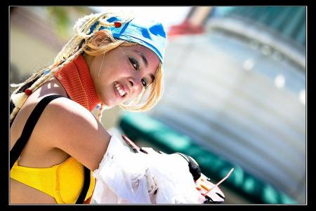 Rikku from Final Fantasy X-2 worn by The Shining Polaris