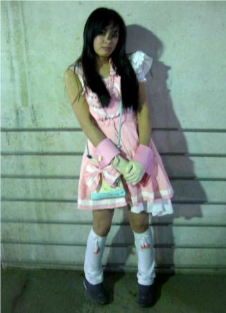 Pretty Lolita Girl in Pink from Original:  Fantasy worn by The Shining Polaris