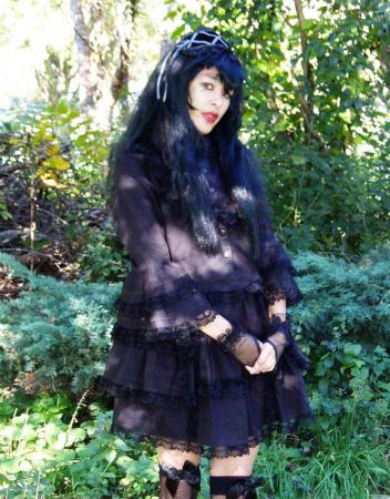 Gothic Lolita Doll worn by The Shining Polaris