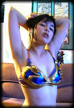 Chun Li from Street Fighter II worn by The Shining Polaris