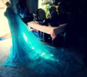 Elsa from Frozen worn by The Shining Polaris