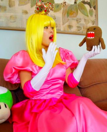 Princess Peach Toadstool from Super Princess Peach worn by The Shining Polaris