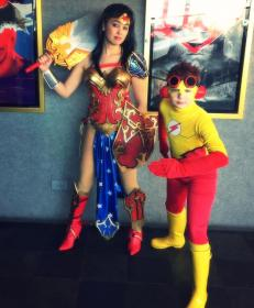 Wonder Woman from Justice League worn by The Shining Polaris