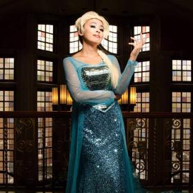 Elsa from Frozen worn by The Shining Polaris