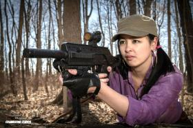 Rosita Espinosa from Walking Dead, The by The Shining Polaris