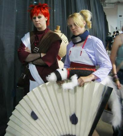 Gaara from Naruto worn by StarDustShadow
