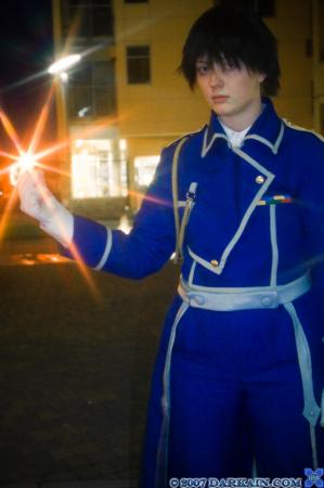 Roy Mustang from Fullmetal Alchemist