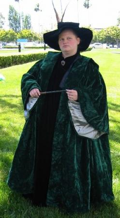 Professor McGonagall from Harry Potter worn by Leloi