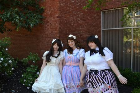 Shiro Lolita from Original: Gothic Lolita / EGL / EGA worn by Horu-chan