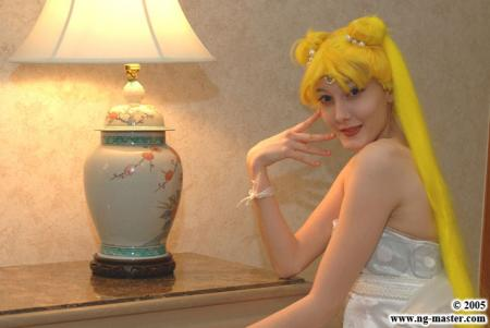 Neo Queen Serenity from Sailor Moon R worn by Technopoptart