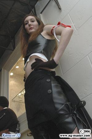 Tifa Lockhart from Final Fantasy VII: Advent Children worn by Technopoptart