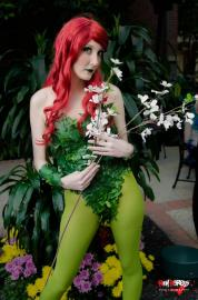 Poison Ivy from Batman worn by Technopoptart