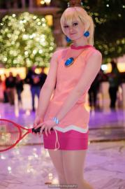 Princess Peach from Mario Power Tennis