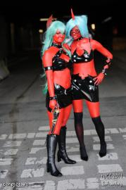 Scanty from Panty and Stocking with Garterbelt worn by BalthierFlare