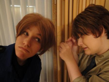 Italy (Veneziano) / Feliciano Vargas from Axis Powers Hetalia worn by Kaurin