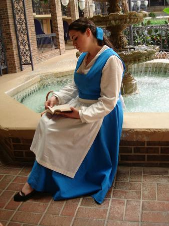 Belle from Beauty and the Beast worn by Elly~Star
