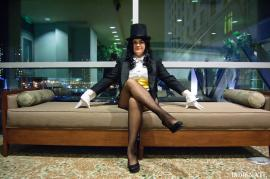 Zatanna Zatarra from DC Comics worn by Elly~Star