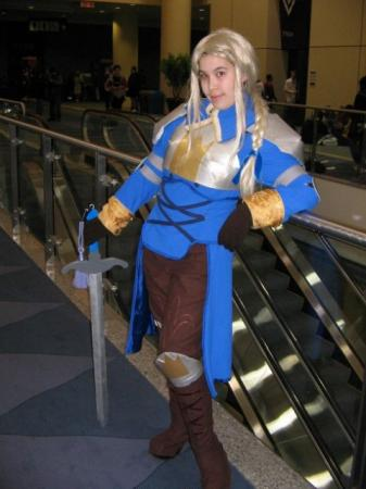 Agrias from Final Fantasy Tactics worn by Mage