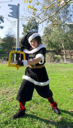 Sora from Kingdom Hearts 2 (Worn by roxyryoko)