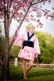 Yuya Shiina from Samurai Deeper KYO worn by Rya