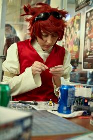 Reiji from Gundam Build Fighters
