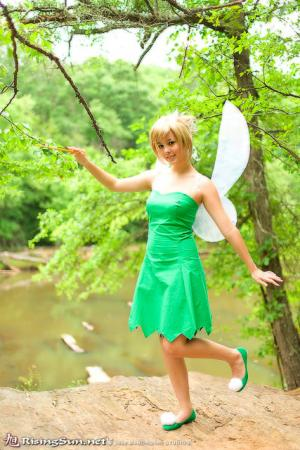 Tinkerbell from Kingdom Hearts worn by Monika Lee