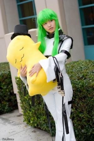 Cheese-kun from Code Geass worn by susan