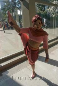 Ty Lee from Avatar: The Last Airbender worn by Kiby-E.L.L.A
