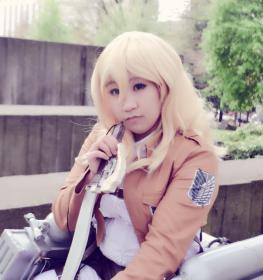 Historia Reiss / Christa Renz from Attack on Titan by Kiby-E.L.L.A