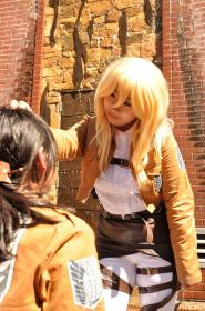 Historia Reiss / Christa Renz from Attack on Titan worn by Kiby-E.L.L.A