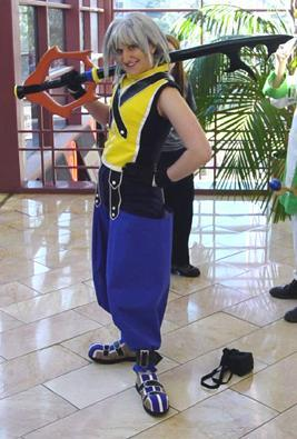 Riku from Kingdom Hearts worn by Celine