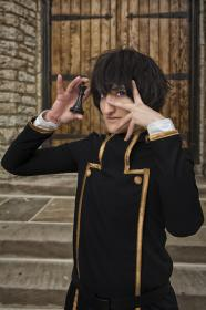 Lelouch Lamperouge from Code Geass worn by Celine