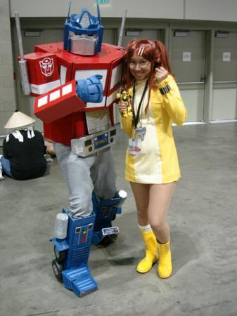 Sari Sumdac from Transformers