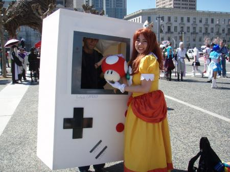 Princess Daisy from Super Mario Brothers Series worn by videogirlc