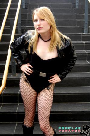 Black Canary from DC Comics worn by Chiki
