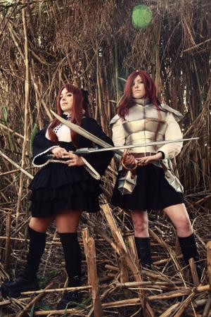 Erza Scarlet from Fairy Tail worn by Gowa-chan