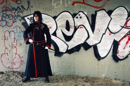 Yu Kanda from D. Gray-Man worn by Gowa-chan
