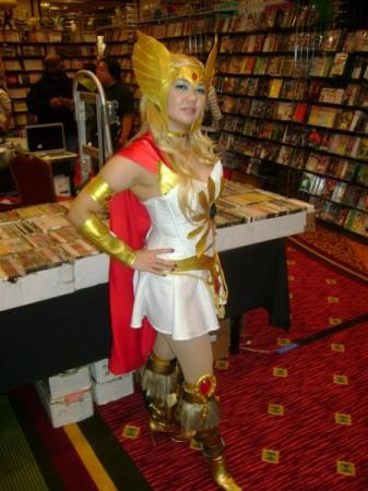 She-Ra from She-Ra Princess of Power worn by CosPinay