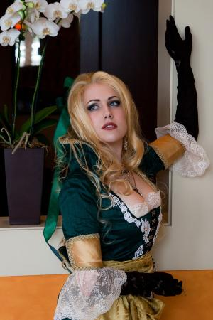 Maria Renard from Castlevania: Symphony of the Night