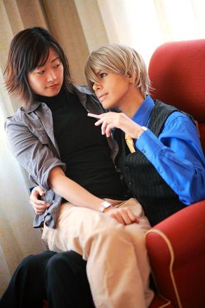 Usami Akihiko from Junjou Romantica worn by + unlock +