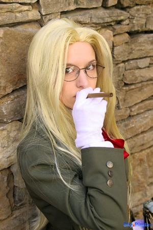 Sir Integra Fairbrook Wingates Hellsing from Hellsing worn by AerithReborn