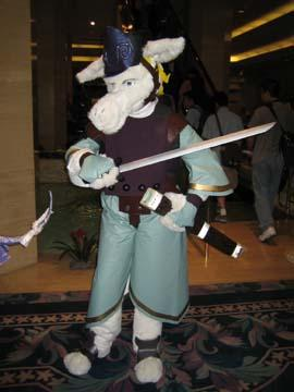 Burmecian Soldier Dan from Final Fantasy IX 
