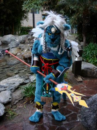 Kimahri Ronso from Final Fantasy X worn by Anele