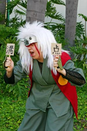 Jiraiya from Naruto worn by Anele