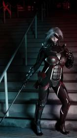 Raiden from Metal Gear Rising: Revengeance  by Adnarimification